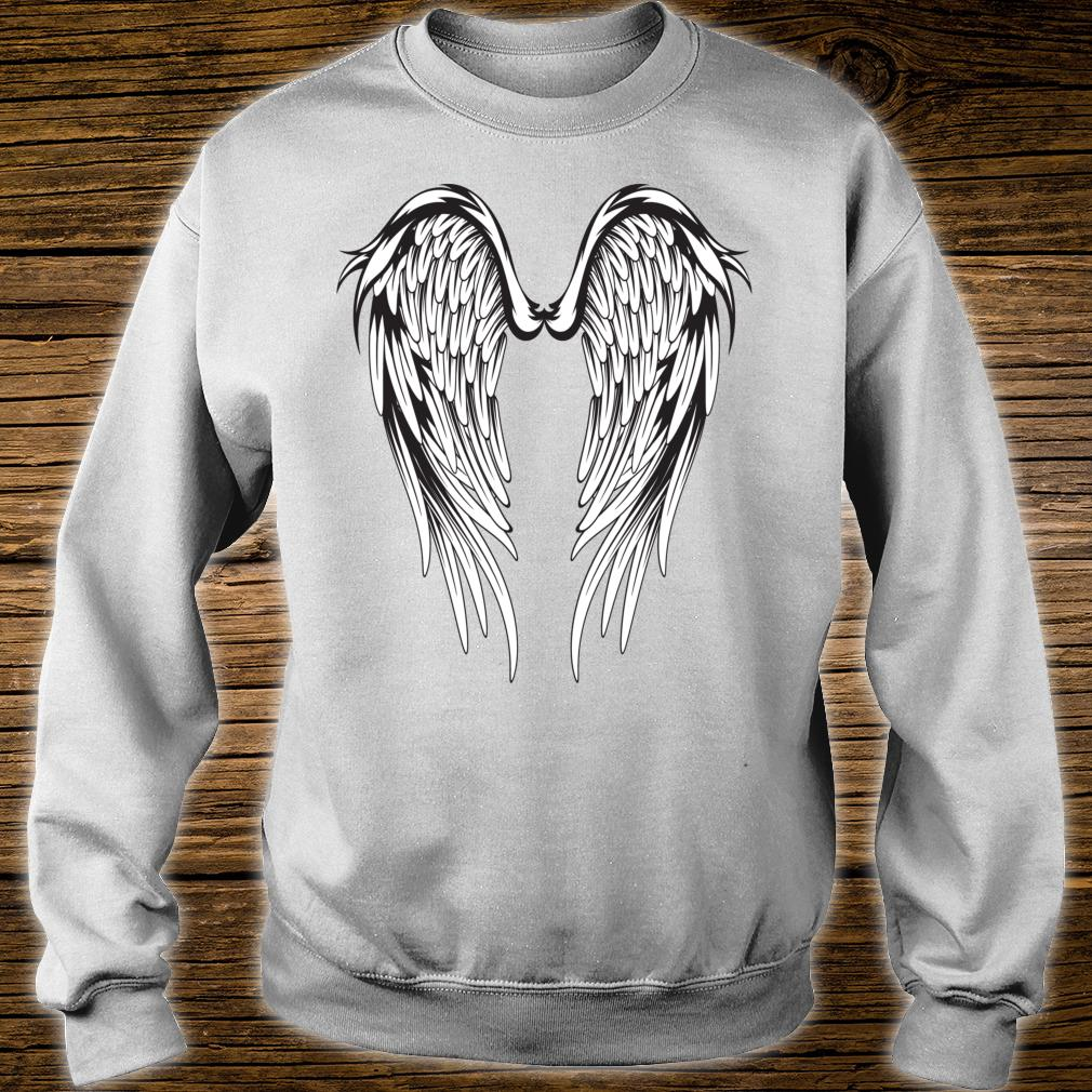Wings #2 On The Back Side Angel Shirt sweater
