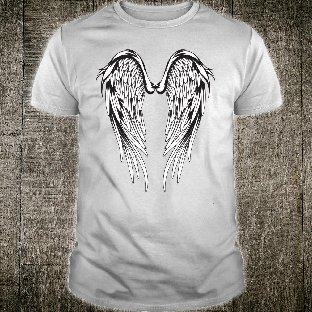 Wings #2 On The Back Side Angel Shirt