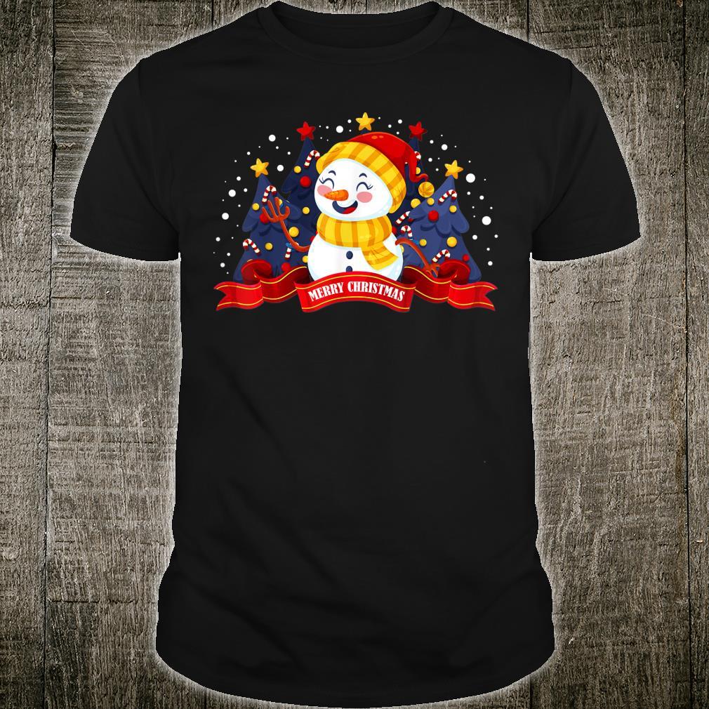 Winter Snowman Shirt