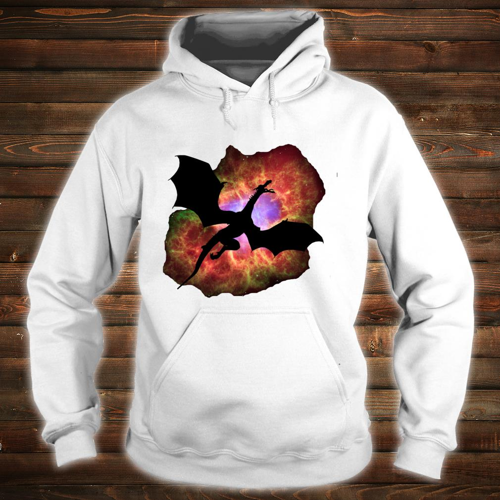 Wizard's Eye Nebula Dragon Fantasy Roleplaying Gamers Shirt hoodie
