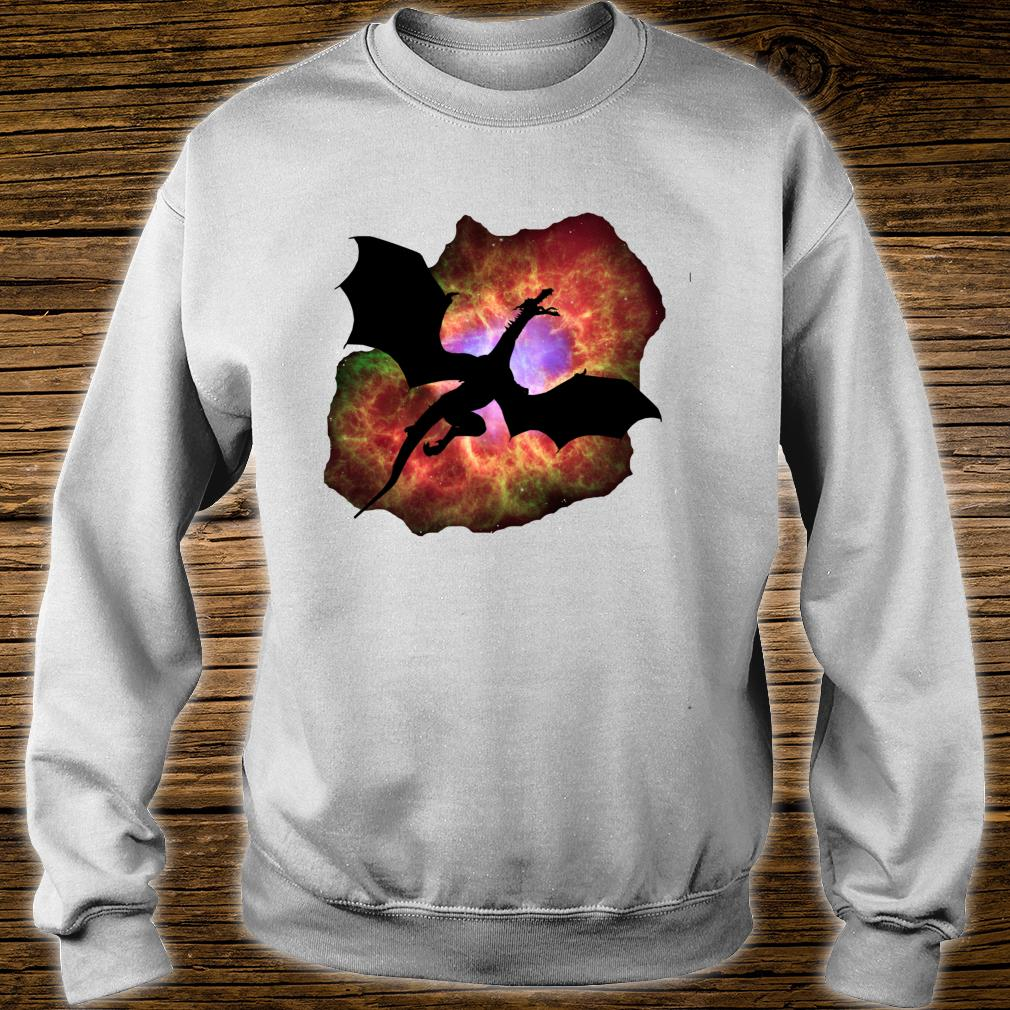 Wizard's Eye Nebula Dragon Fantasy Roleplaying Gamers Shirt sweater