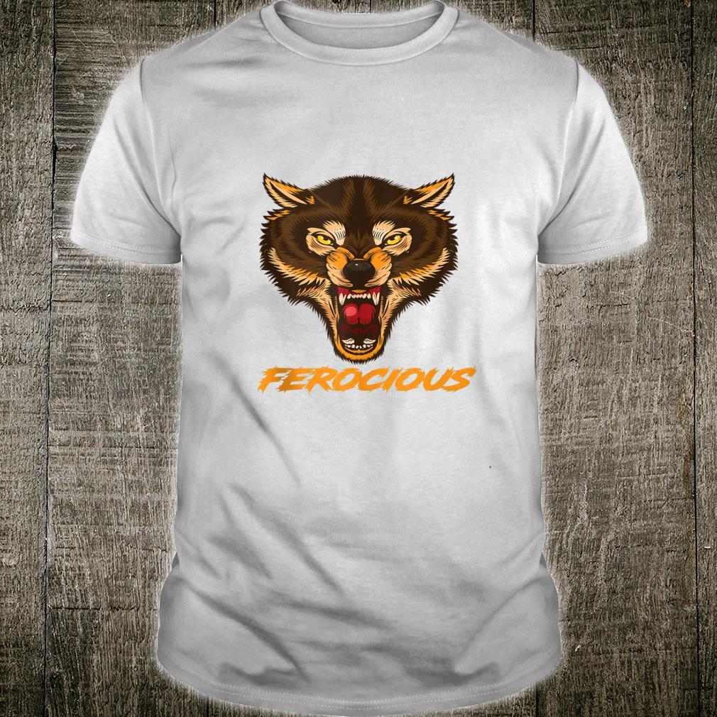 Wolf Ferocious Wolf Shirt