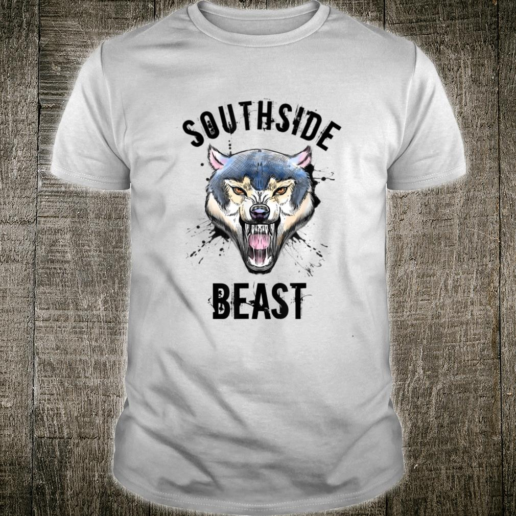 Wolf Southside Beast Workout Gym Bodybuilding Chicago Shirt