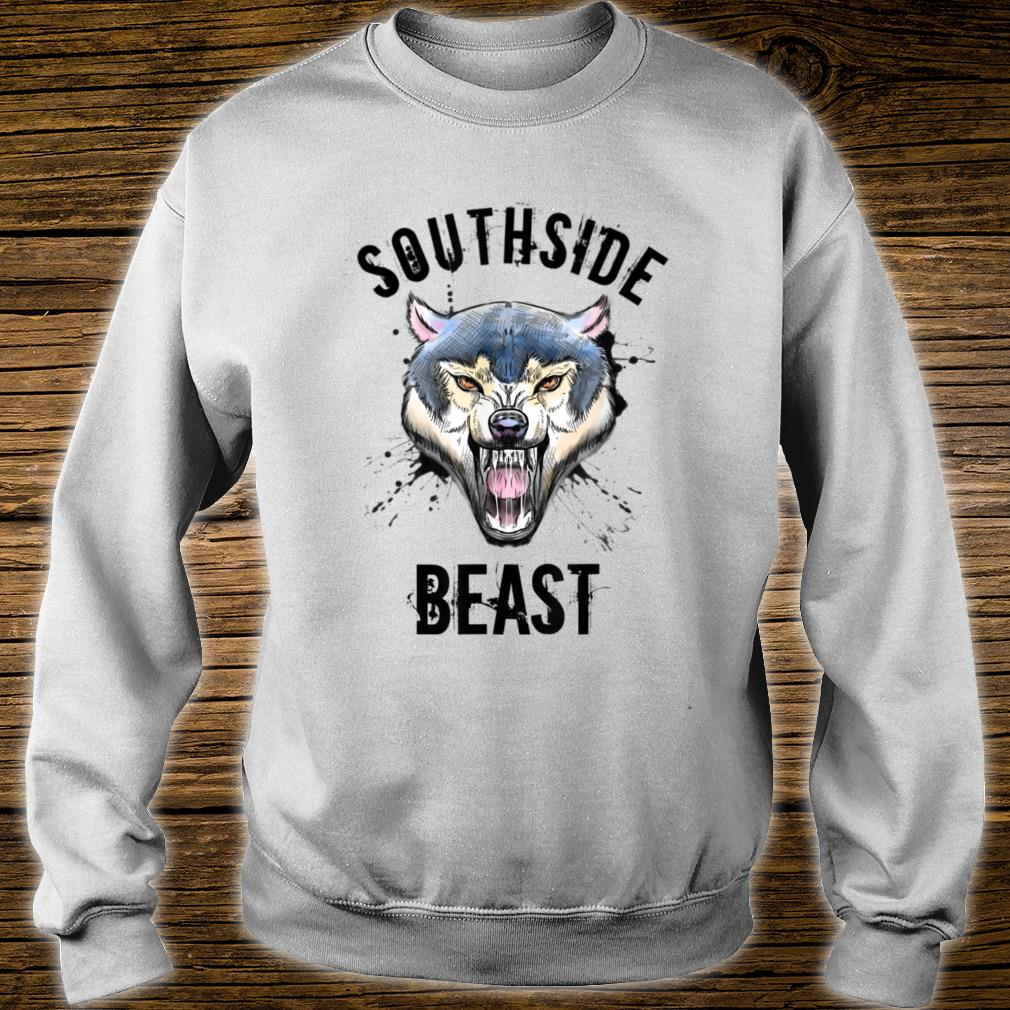 Wolf Southside Beast Workout Gym Bodybuilding Chicago Shirt sweater