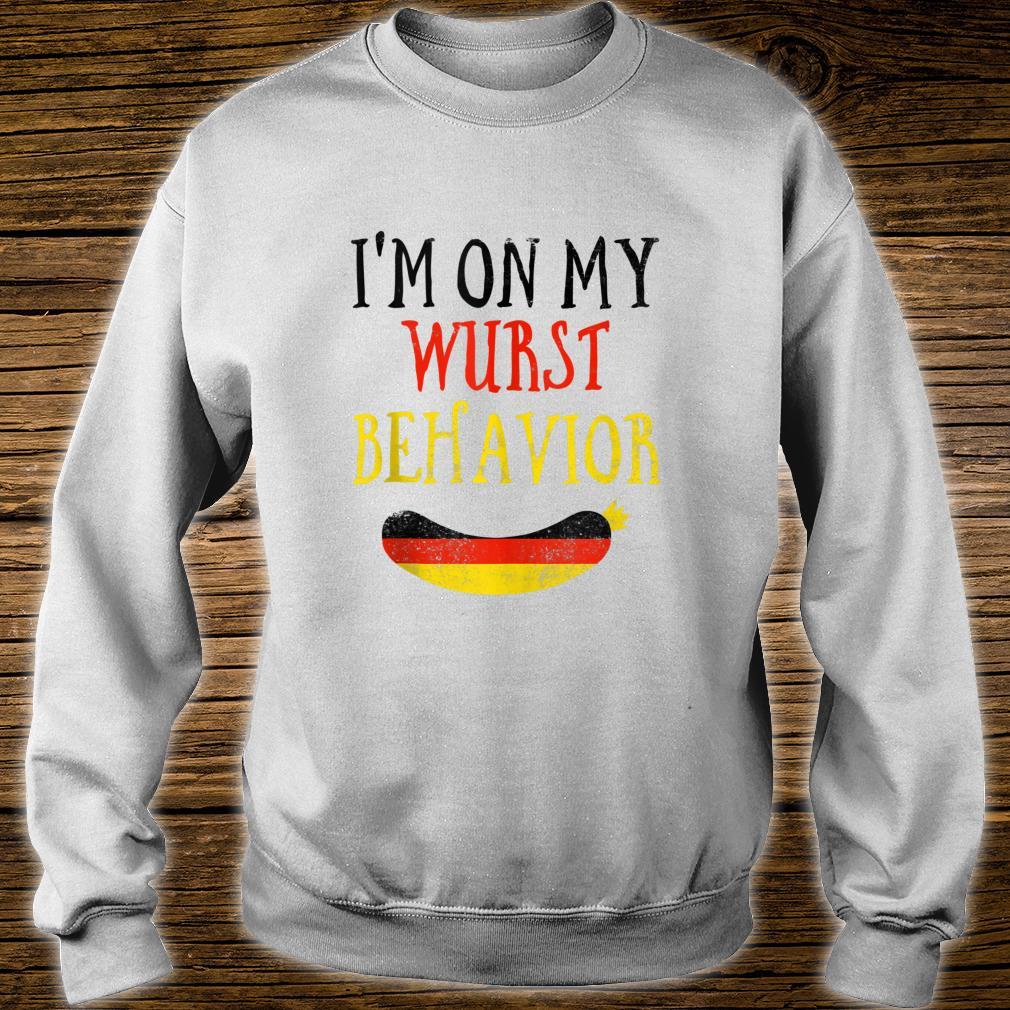 Wurst Behavior Wurstfest Oktoberfest Shirt sweater