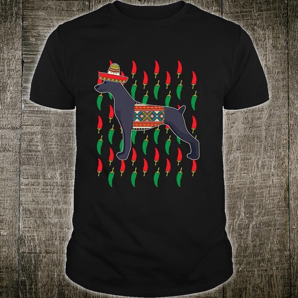 Xoloitzcuintli Cinco De Mayo Dog Sombrero Mexican Fiesta Shirt