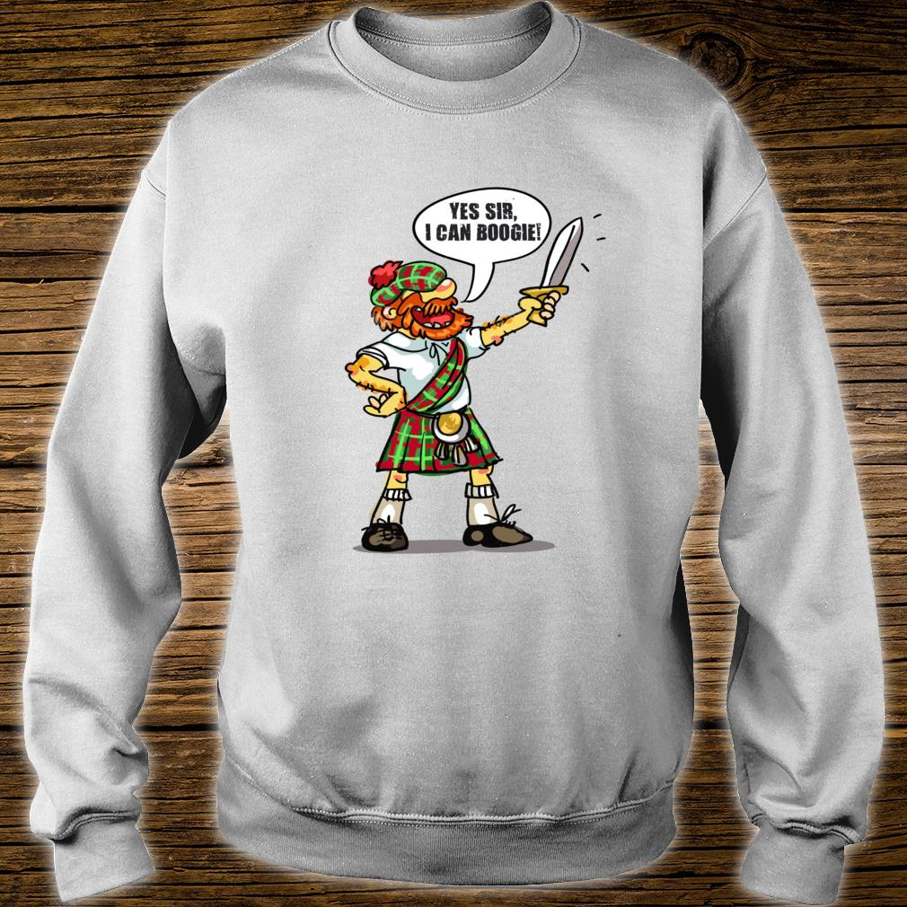 Yes Sir I Can Boogie Shirt sweater