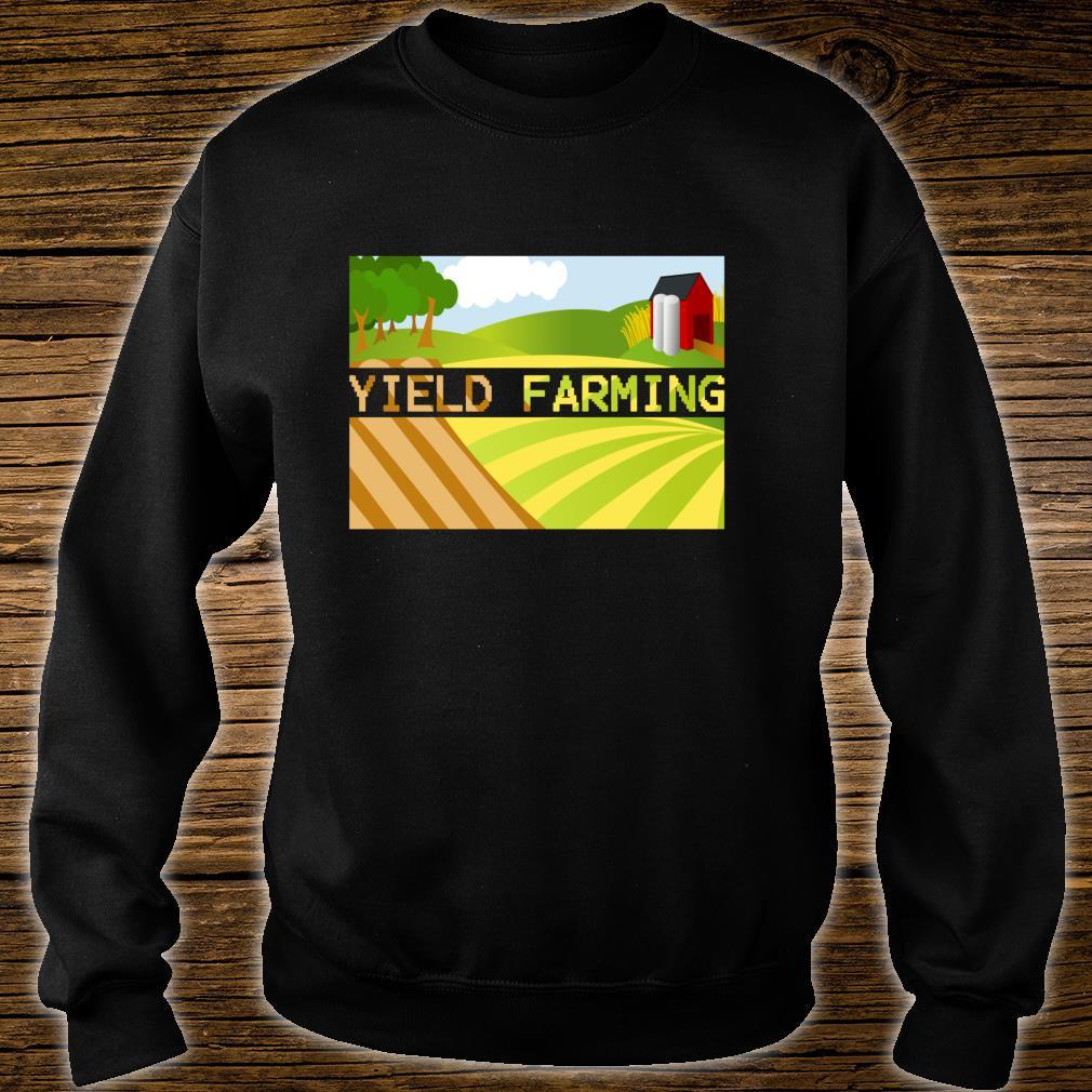 Yield Farming Cryptocurrency Farmer Crypto Farm Blockchain  Shirt sweater