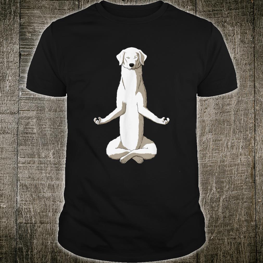 Yoga Hund Kuvasz Shirt