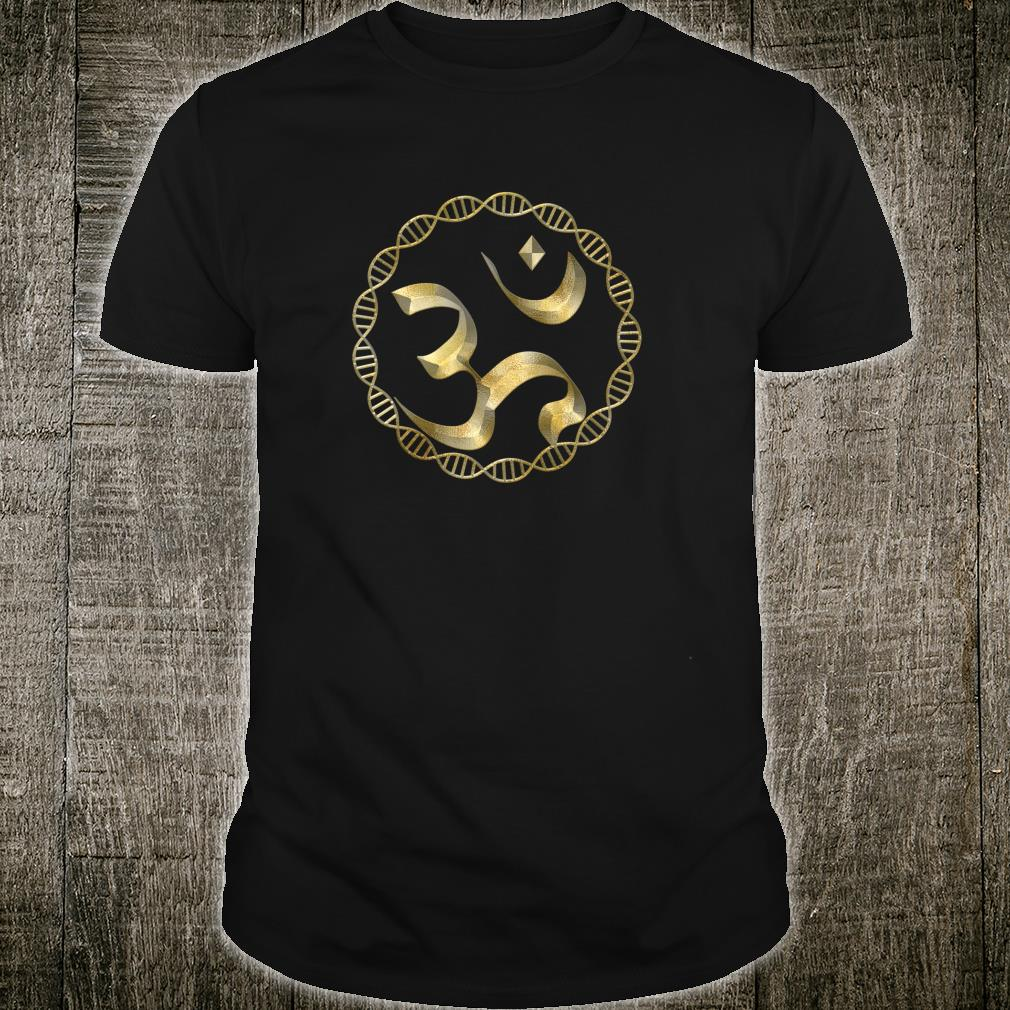 Yoga OM Symbol, DNA Mandala Shirt