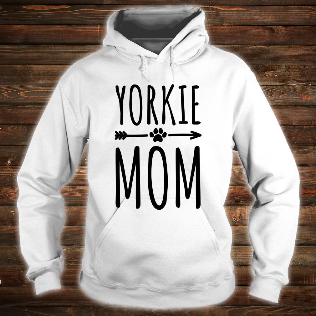 Yorkie Mom Frauen Mädchen Yorkshire Terrier Shirt hoodie