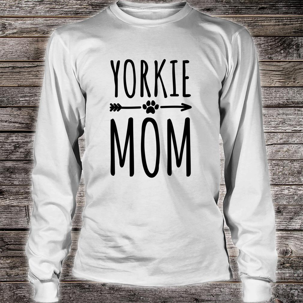 Yorkie Mom Frauen Mädchen Yorkshire Terrier Shirt long sleeved