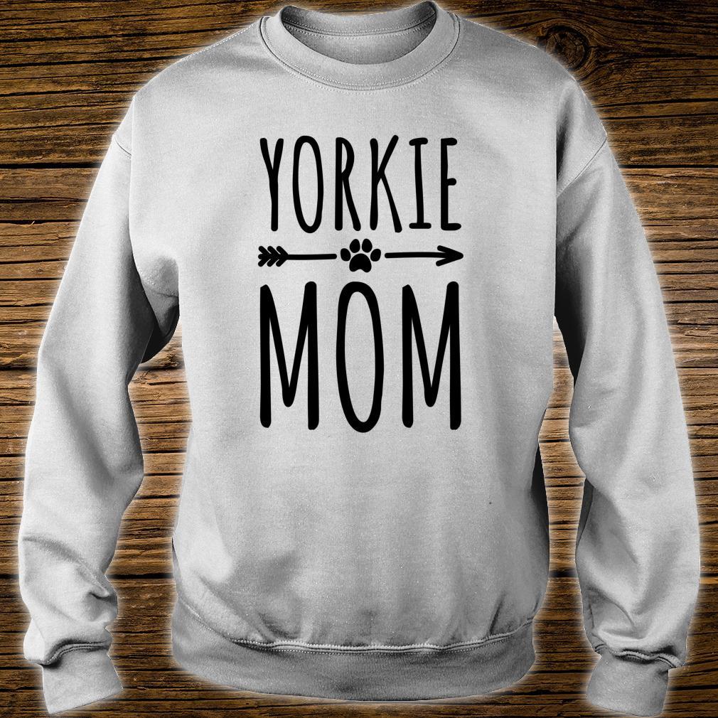 Yorkie Mom Frauen Mädchen Yorkshire Terrier Shirt sweater