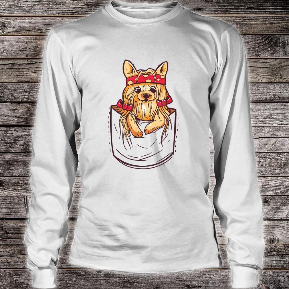 Yorkshire Terrier Shirt long sleeved