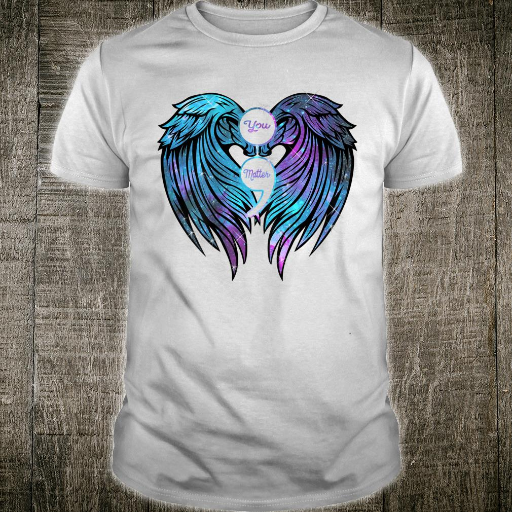 You Matter wings Shirt Suicide Prevention Awareness Shirt