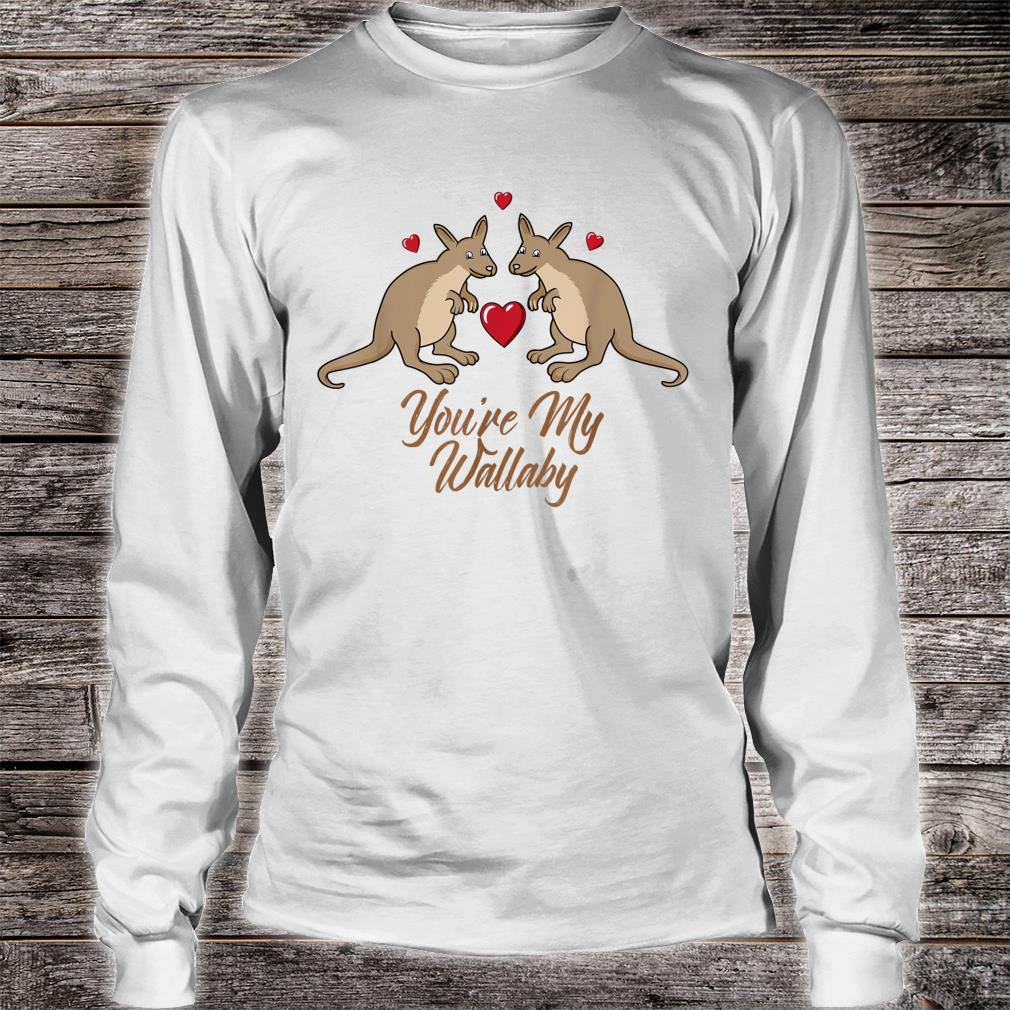 You're My Wallaby Valentine's Day Couples Outfit Shirt long sleeved