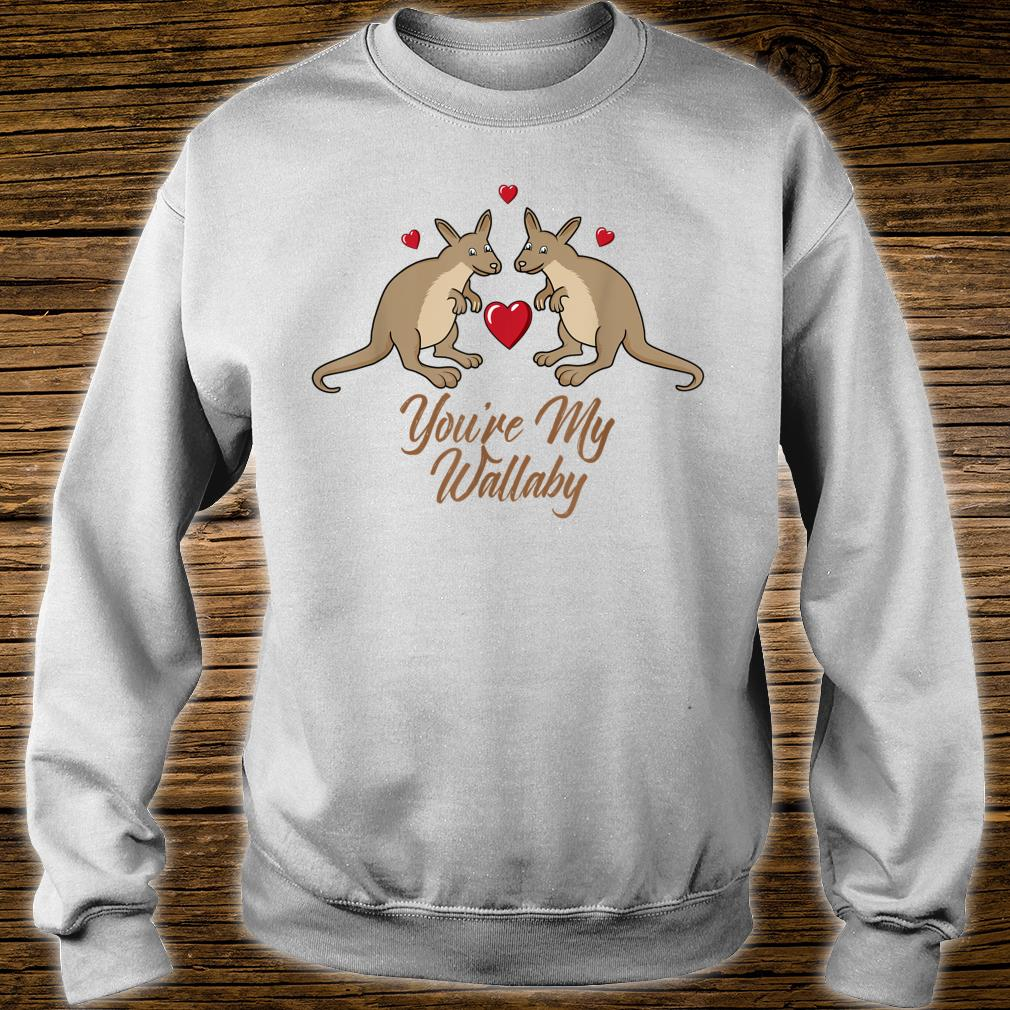 You're My Wallaby Valentine's Day Couples Outfit Shirt sweater