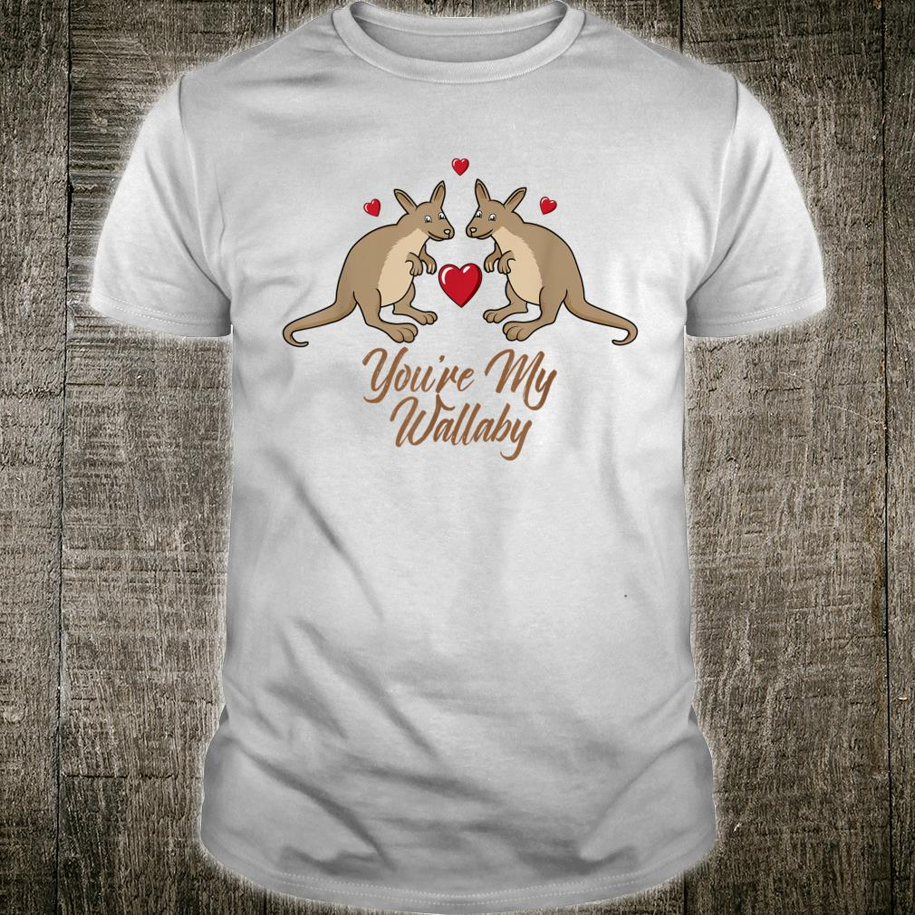 You're My Wallaby Valentine's Day Couples Outfit Shirt