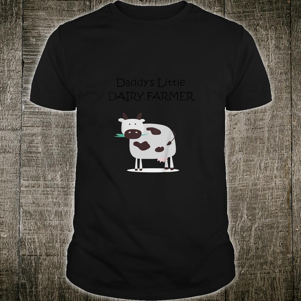 Youth Daddy's Little Dairy Farmer Shirt