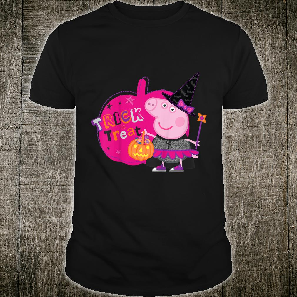 Youth Peppa Pig Trick or Treat Shirt