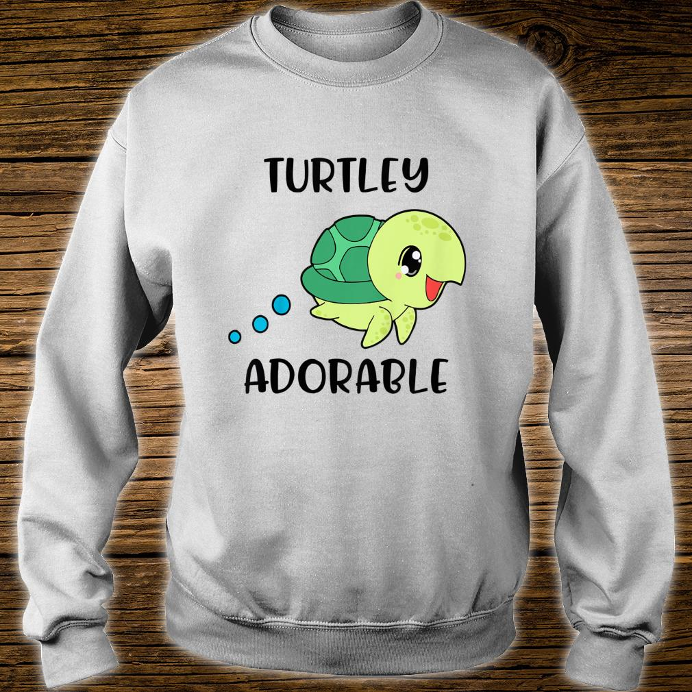 Youth Turtlely Adorable Swimming Sea Turtle Top For Girl Boy Shirt sweater