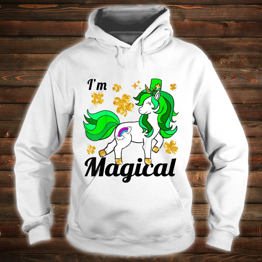 Youth Unicorn st patricks pattys day toddler girl shamrock Shirt hoodie
