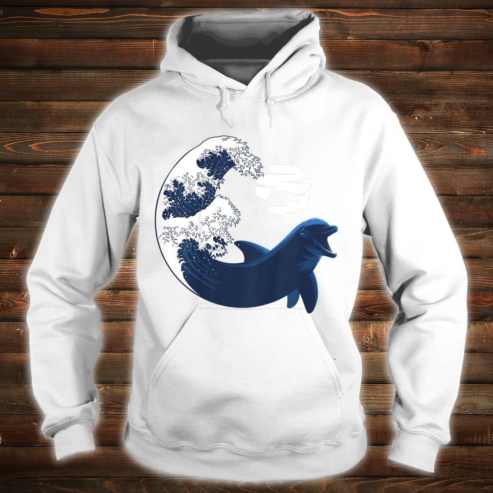 Youth Wave Dolphin nature animal cetacean Shirt hoodie