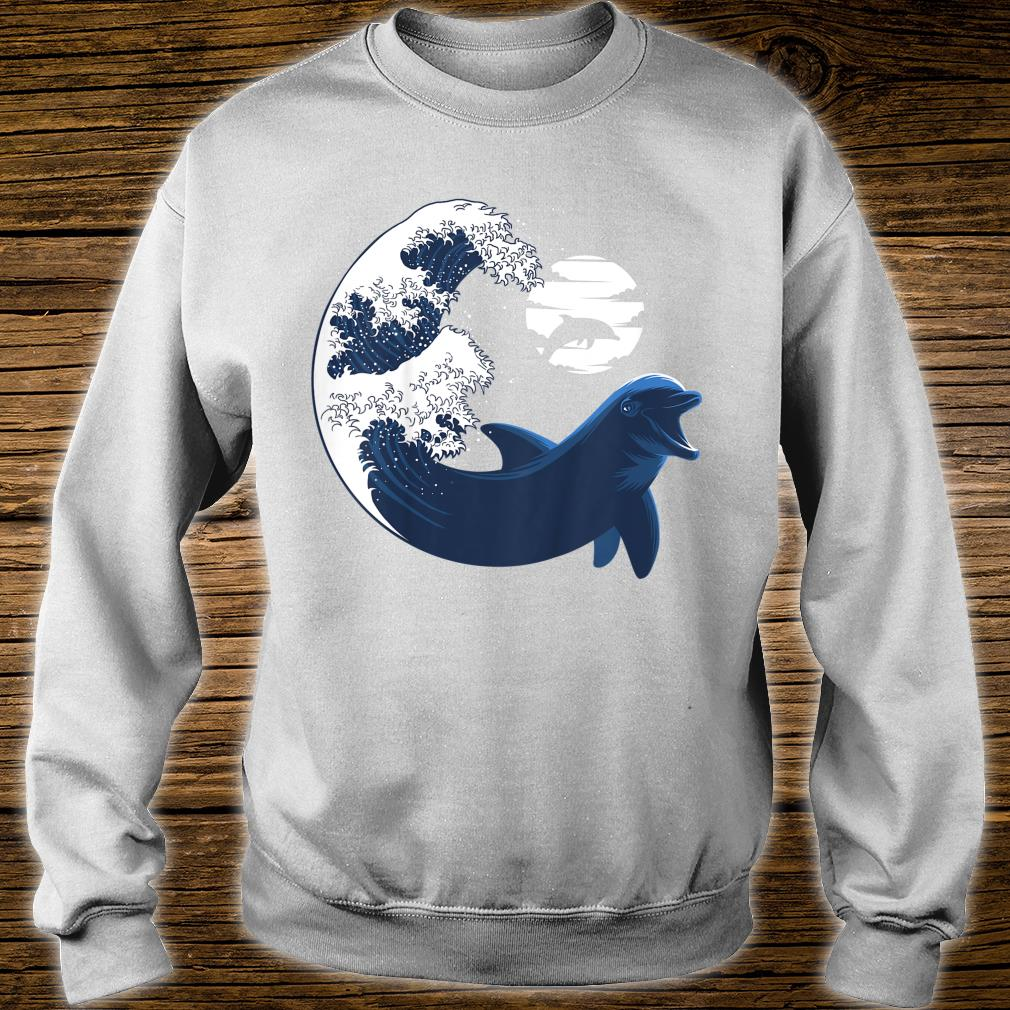 Youth Wave Dolphin nature animal cetacean Shirt sweater