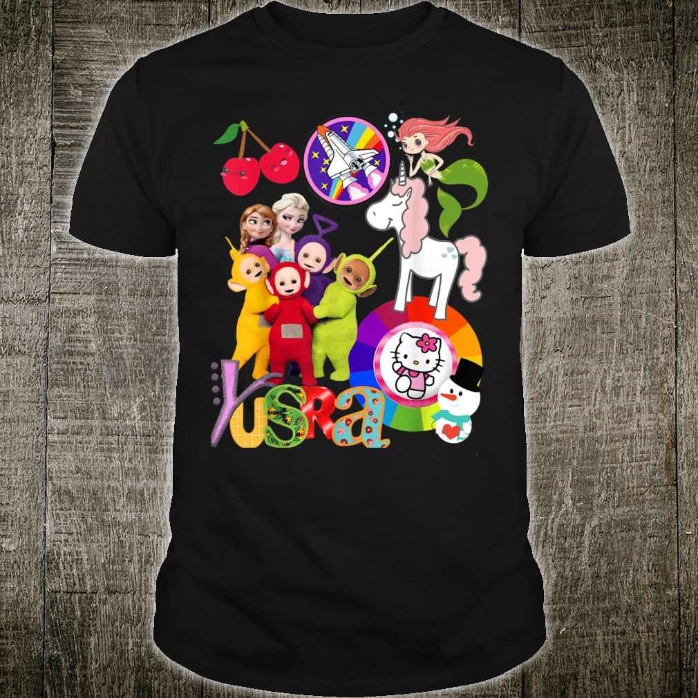 Yusra Anniversary girly collection all in one Shirt
