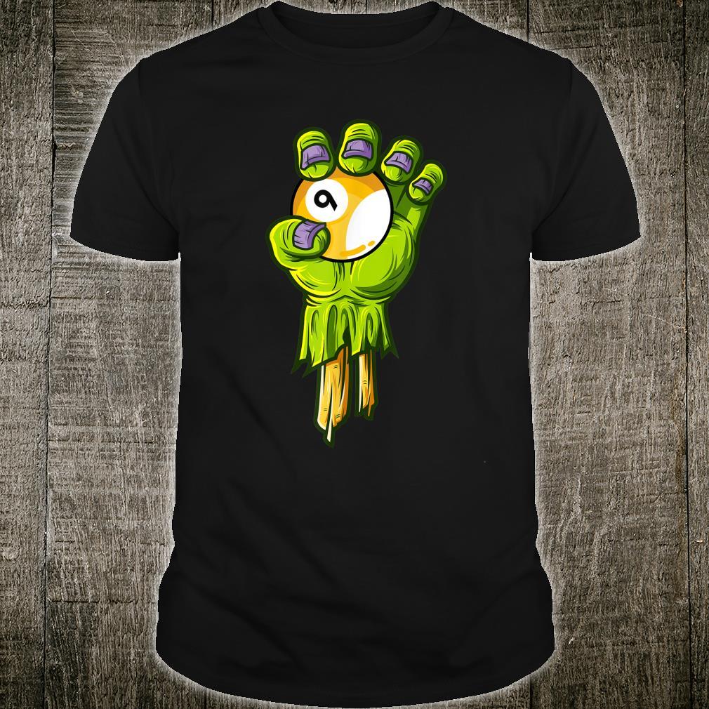 Zombie Hands Nineball Halloween Horror Scary Costume Shirt