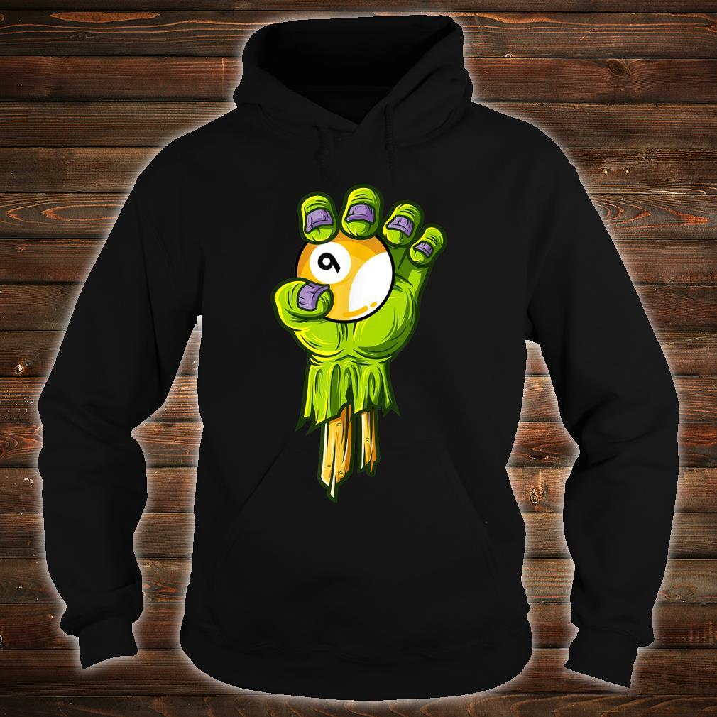Zombie Hands Nineball Halloween Horror Scary Costume Shirt hoodie
