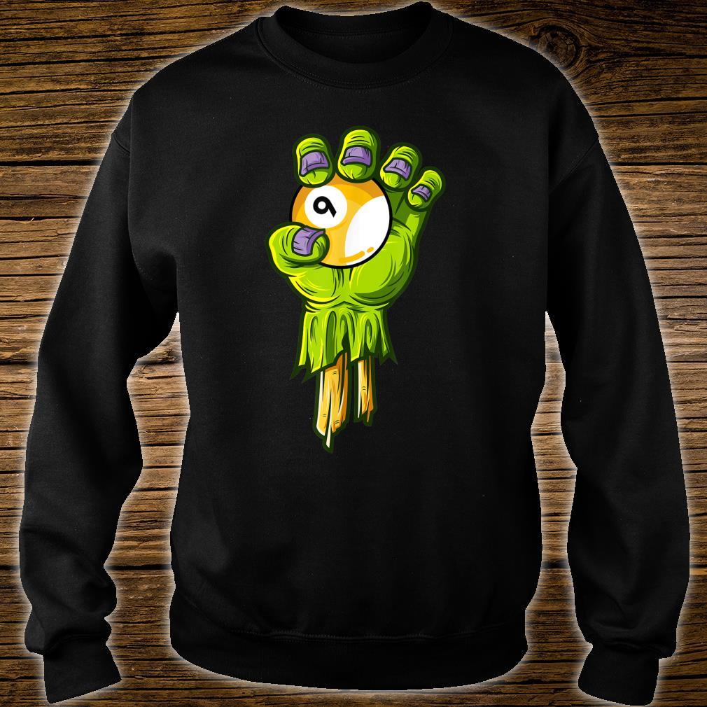 Zombie Hands Nineball Halloween Horror Scary Costume Shirt sweater